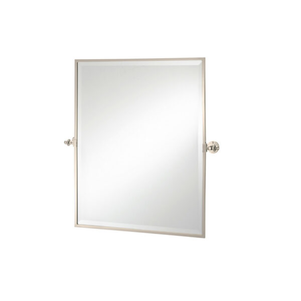 Classical Rectangle Tilt Mirror Nickel Plated