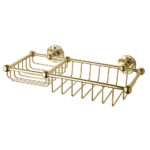 Classical Soap Sponge Basket-Polished Brass