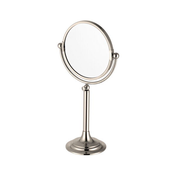 Classical Tall Freestanding Mirror Nickel Plated