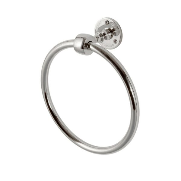 Classical Towel Ring Chrome Plated