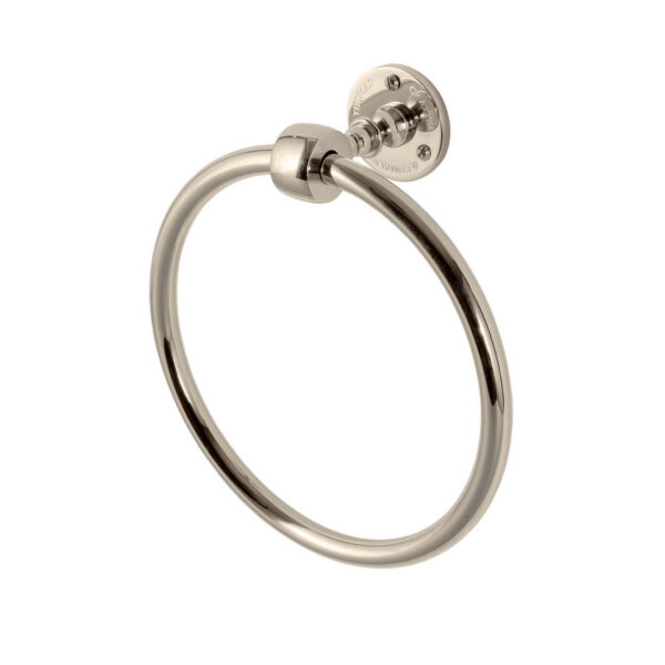 Classical Towel Ring Nickel Plated
