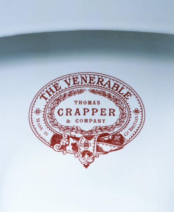 Thomas Crapper Venerable Toilet Logo