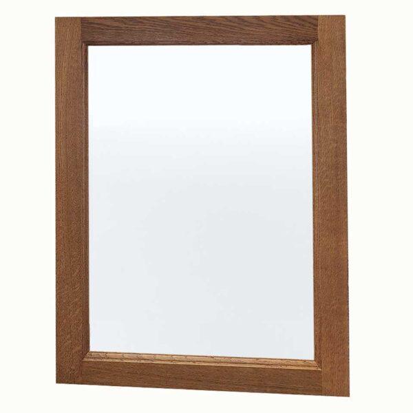 Regent Oak Mirror