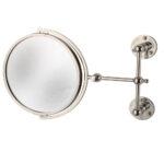 Classical Pivot Shaving Mirror-Nickel Plated