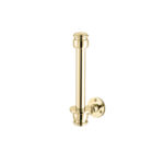 Classical Spare Toilet roll Holder Polished Brass