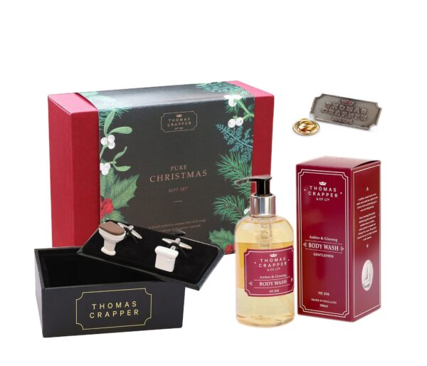 Thomas Crapper Gentleman's Gift Pack