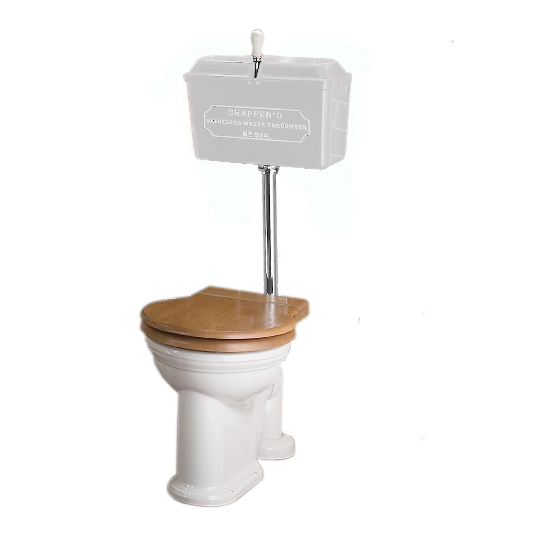 Low-level primed WC set Chrome