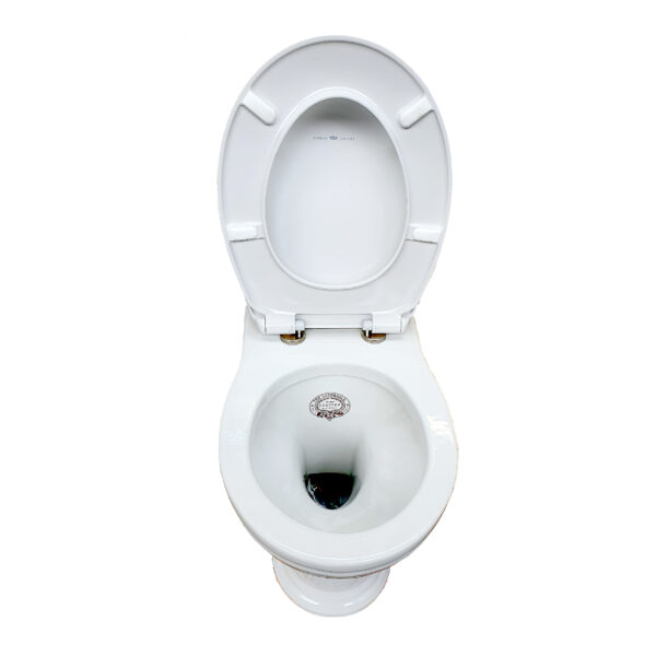 Thomas Crapper Venerable Back-to-Wall Toilet with Essentia Seat