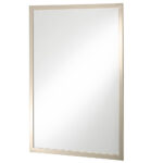 Thomas Crapper Classical Fixed Mirror Nickel Plated