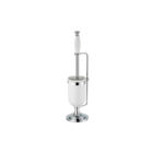 Thomas Crapper Classical Freestanding Toilet Brush Holder Chrome Plated