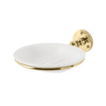 Classical Soap Dish and Holder Polished Brass