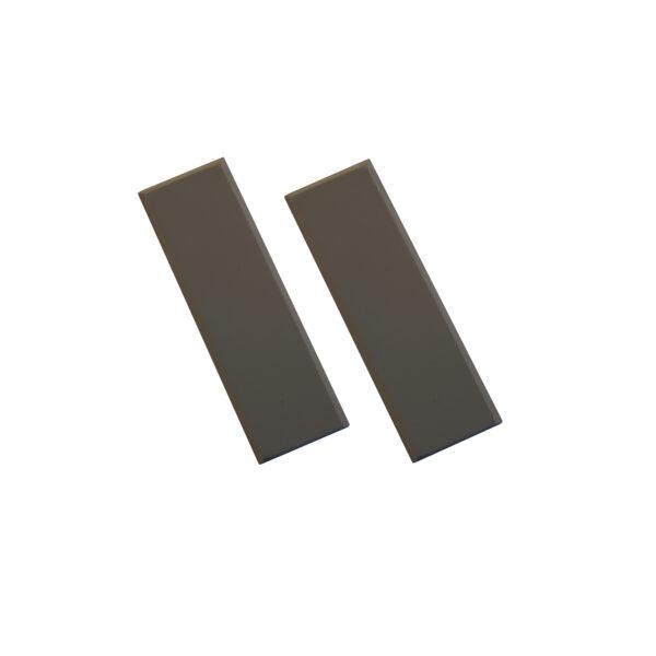 Small Pattresses (Pr) Charcoal Grey