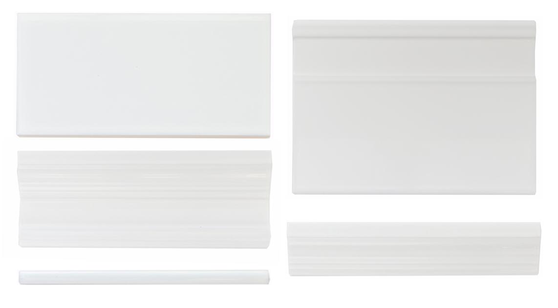 Albus White tile options