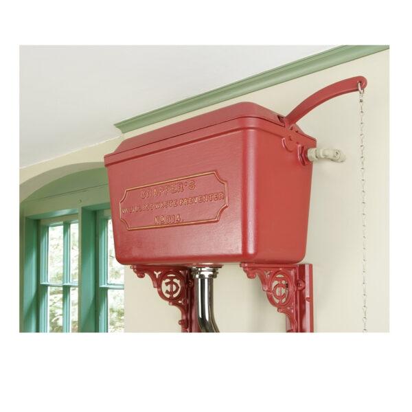 High Level Cast Cistern - Powder Coated