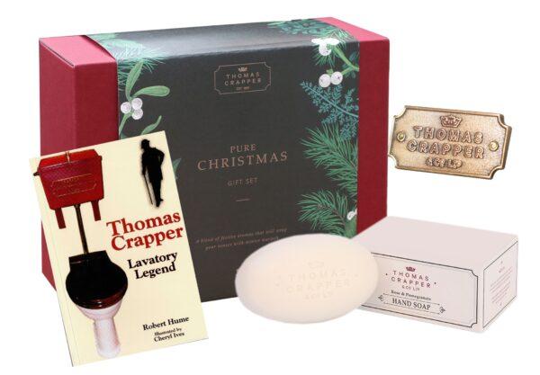 Thomas Crapper Christmas Gift set 6
